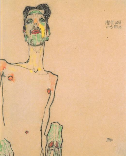 Egon_Schiele_-_Mime_van_Osen_-_1910